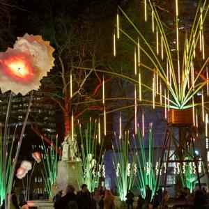 تصویر - تصاویری از جشنواره نور Lumiere London - معماری