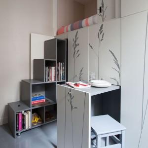 عکس - آپارتمانی کوچک و باورنکردنی ، اثر استودیو معماری Kitoko Studio ، فرانسه