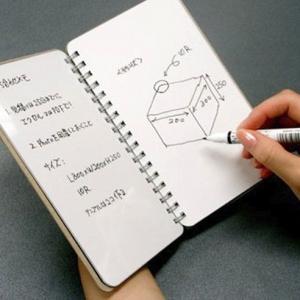 تصویر - NUboard، تخته وایت بردی به شکل دفترچه یادداشت - معماری