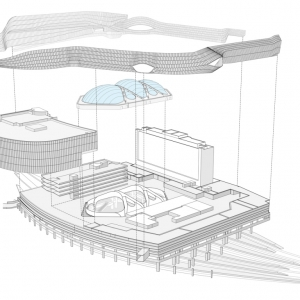 تصویر - ایستگاه جدید حمل و نقل شهری Birmingham ، اثر تیم طراحی معماری AZPML ، انگلستان - معماری