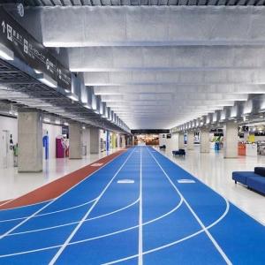 عکس - فرودگاهی که شما را به دویدن دعوت می کند.