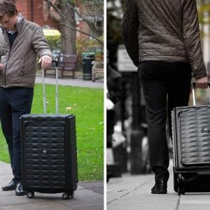تصویر - اولین چمدان هوشمند،تاشو و مستحکم جهان - معماری