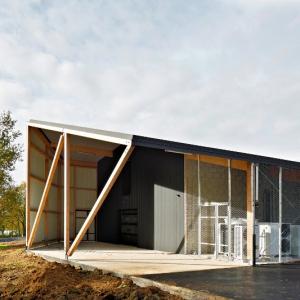 عکس - مرکز اصلاح نباتات و گیاهان ارگانیک ، اثر مشاور معماری Mabire Reich ، فرانسه