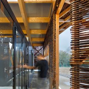 تصویر - مرکز اصلاح نباتات و گیاهان ارگانیک ، اثر مشاور معماری Mabire Reich ، فرانسه - معماری