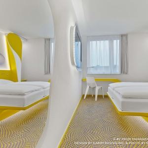 تصویر - نگاهی به هتل تازه تاسیس prizeotel ،واقع در هانوفر آلمان - معماری
