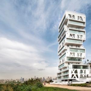 عکس - برج مسکونی Cube ، اثر تیم طراحی معماری Orange ، لبنان