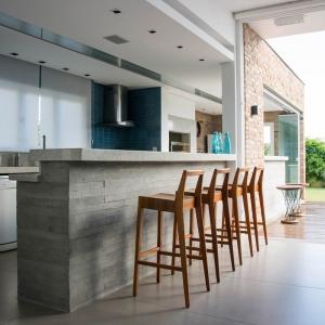 تصویر - آشپزخانه هایی با کانتر بتنی - معماری