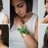 عکس - زیورآلات ساخته شده از گیاهان زنده