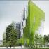 عکس - عمارت سبز در میان برندگان دوباره سازی پاریس