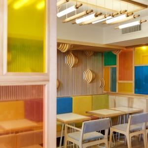 تصویر - طراحی داخلی کافی شاپی در کی یف اوکراین - معماری