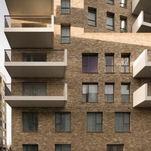 تصویر - آپارتمان مسکونی Greenwich Peninsula Riverside ، اثر تیم معماری C.F. Moller ، انگلستان - معماری