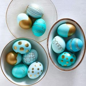 عکس - ایده هایی برای تزئین تخم مرغ رنگی
