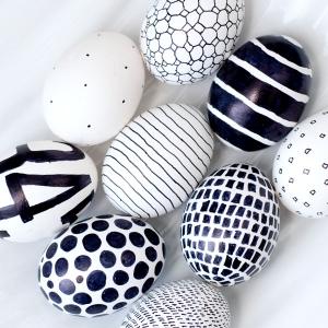 تصویر - ایده هایی برای تزئین تخم مرغ رنگی - معماری