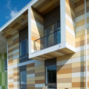 تصویر - مرکز آموزشی  ورزشی Kastelli  ، اثر تیم معماری Lahdelma و Mahlamäki ، فنلاند - معماری