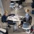عکس - طراحی خاص چراغهای قارچی شکل دانشگاه  Örebro سوئد