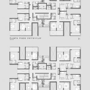 تصویر - ساختمان های بلند مرتبه مسکونی Ludwig II ، اثر استودیو Eugenio Simonetti و Renato Stewart ، شیلی - معماری