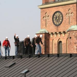 تصویر - برگزاری تور پیاده بر روی بام ساختمانها در استکهلم - معماری