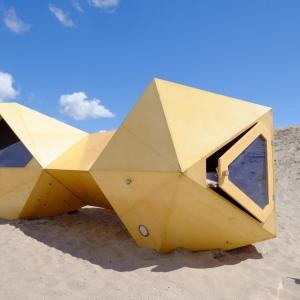 تصویر - جشنواره عجیبترین سرپناهها در آمستردام - معماری