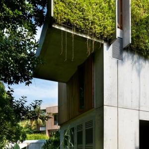 تصویر - خانه Astrid Hill  ، اثر معماران Tsao و McKown ، سنگاپور - معماری