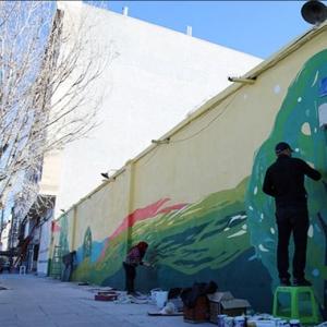 عکس - هنرمندان در رویداد هنری ، بهارستان