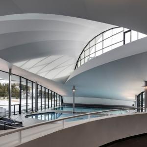 تصویر - مرکز بازی های آبی Aquamotion ، اثر تیم معماری Auer Weber  ، فرانسه - معماری