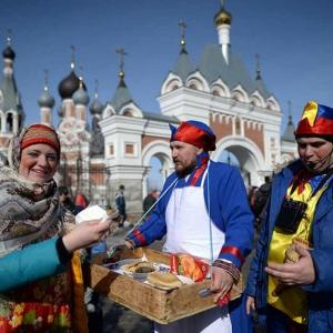 عکس - نگاهی به جشن استقبال از نوروز در روسیه