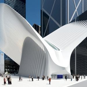 عکس - مرکز حمل و نقل مرکز تجارت جهانی ، اثر معمار Santiago Calatrava ، نیویورک