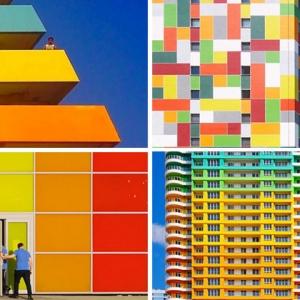 عکس - 10 تصویر از معماری مدرن و رنگارنگ استانبول