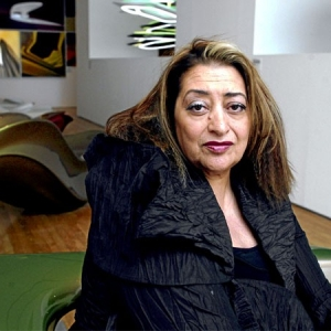 عکس - زاها حدید ، معمار برجسته عراقی - انگلیسی درگذشت.