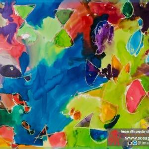 تصویر - نمایشگاه نقاشی کودکان محلههای خاکسفید و فرحزاد در دانشگاه کلگری کانادا - معماری