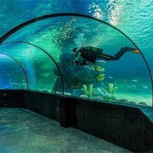 تصویر - اولین تونل آکواریوم کشور در اصفهان - معماری