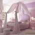 عکس - 19 ایده برای تختخواب های سایبان دار اتاق پرنسس های کوچک
