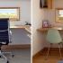 عکس - طراحی خلاقانه میزهای کار در این خانه ساحلی