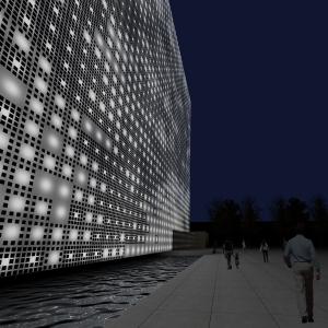 تصویر - پروژه GreenPix ، پوسته و معماری دیجیتال ، اثر تیم معماری Giostra و ARUP ، چین - معماری