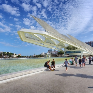 عکس - موزه فردا ، اثر معمار سانتیاگو کالاتراوا ، برزیل