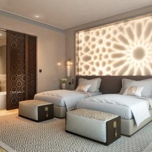 عکس - 27 اتاق خواب با نورپردازی خیره کننده