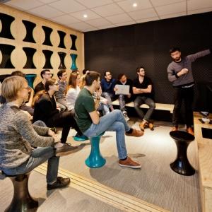 تصویر - دفترکار Ekimetrics.02 ، اثر تیم معماری Vincent و Gloria ، فرانسه - معماری