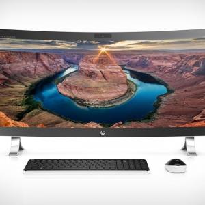عکس - کامپیوتر منحنی HP ENVY