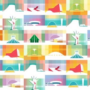 عکس - قصیده اسکار ، تصویرسازی آثار مشهورترین معمار برزیلی
