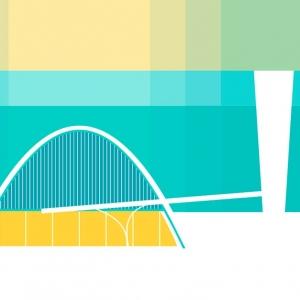 تصویر - قصیده اسکار ، تصویرسازی آثار مشهورترین معمار برزیلی - معماری