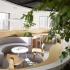 عکس - باغی پنهان در پس دیواره بتنی ، اثر تیم طراحی Muxin Design ، چین