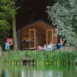تصویر - زندگی در خانه ای قابل بازیافت - معماری