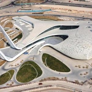تصویر - دانشگاه مطالعات اسلامی QFIS ، اثر تیم معماری RHWL ، قطر - معماری