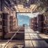 عکس - تبدیل ساختمانهای 100 ساله به تونلهایی رو به آسمان