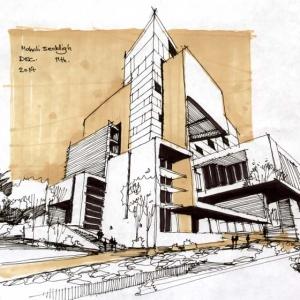 تصویر - ساختار ارتباطی همافزا میان معمار و کارفرما - معماری