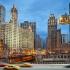 عکس - شیکاگو و شبکه ای از ماشین های کابلی هوایی