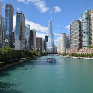 تصویر - شیکاگو و شبکه ای از ماشین های کابلی هوایی - معماری