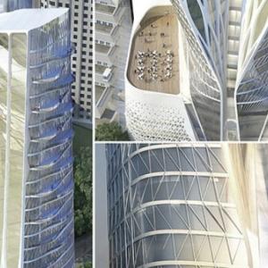 تصویر - پروژه پاسارگاد , ردپای زاها حدید در تهران - معماری