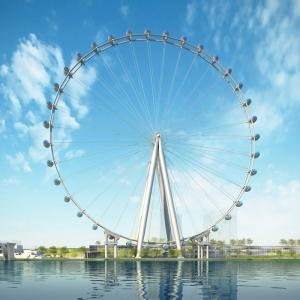 عکس - بزرگترین چرخ فلک دنیا در نیویورک با هزینه 500 میلیون دلار