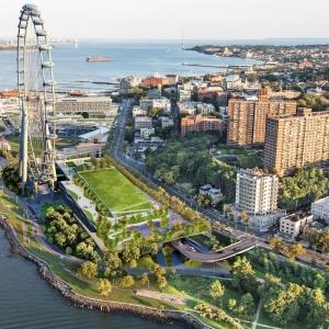 تصویر - بزرگترین چرخ فلک دنیا در نیویورک با هزینه 500 میلیون دلار - معماری